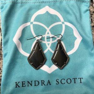 Black Kendra Scott Earrings